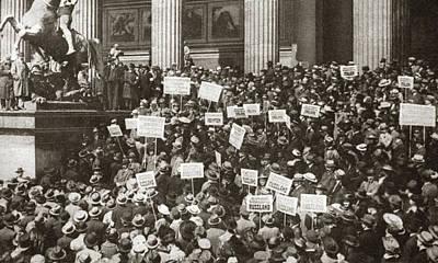 World War I Berlin, C1919 Poster by Granger
