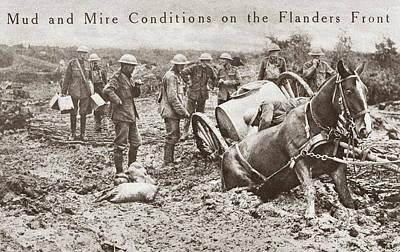 World War I Flanders Poster