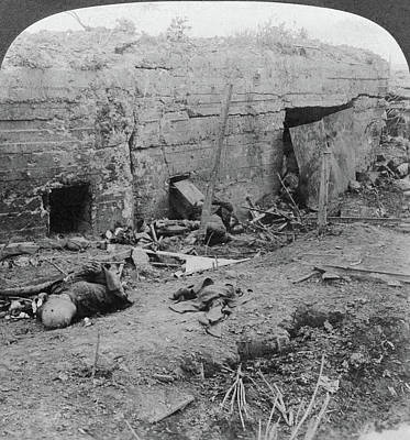 World War I German Dead Poster