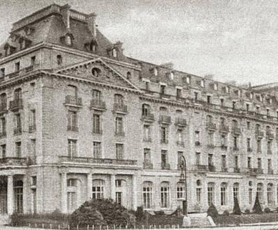 World War I Hotel Trianon Poster by Granger