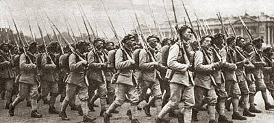 World War I Paris, C1917 Poster by Granger