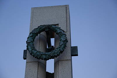 World War II Memorial - Washington Dc - 01132 Poster