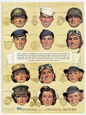World War II: U.s. Forces Poster by Granger