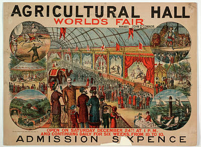 World's Fair Poster by British Library