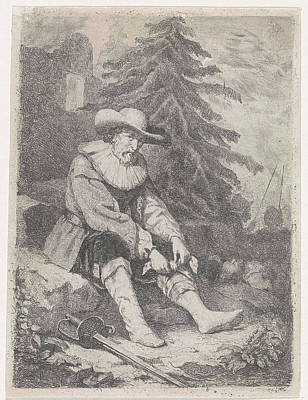 Wounded Warrior, David Van Der Kellen IIi Poster
