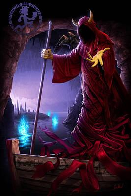 Wraith Ferryman Poster