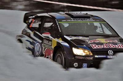 Wrc Rally Sweden  Poster by Stefan Pettersson