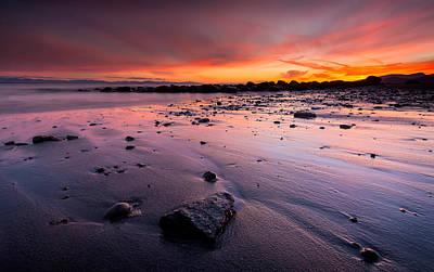 Wreck Beach Sunset Poster