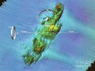 Wreck Of Uss Susan B. Anthony Poster