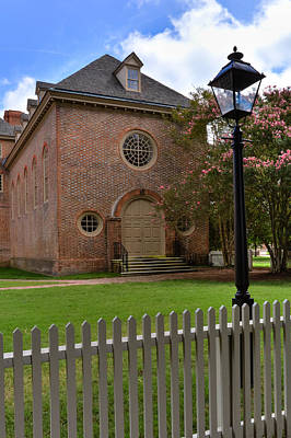 Wren Chapel At William And Mary Poster