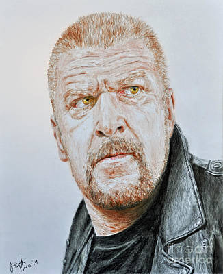 Pro Wrestling Superstar Triple H Poster by Jim Fitzpatrick
