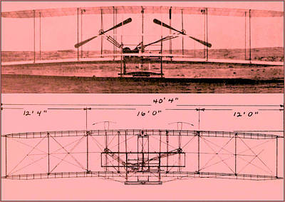 Wright Brothers - Flyer I Poster