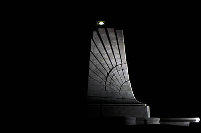 Poster featuring the photograph Wright Brothers Memorial II by Greg Reed