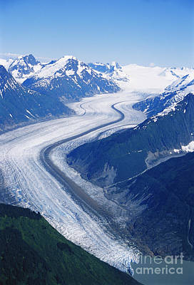 Wright Glacier Poster by Gregory G. Dimijian, M.D.