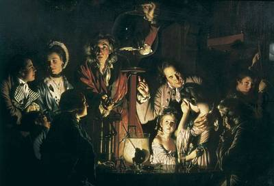 Wright Of Derby, Joseph Wright Poster by Everett