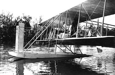 Wright Seaplane, 1913 Poster by Science Source