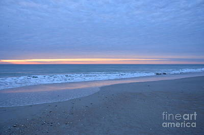 Wrightsville Beach Sunrise Poster by Bob Sample
