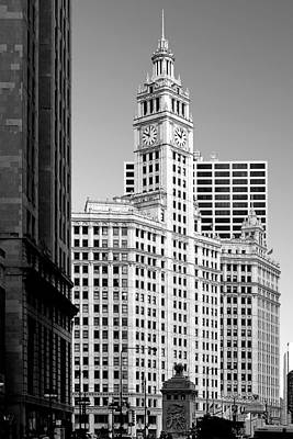 Wrigley Building - A Chicago Original Poster by Christine Till