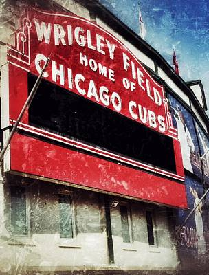 Wrigley Red Poster by Jame Hayes