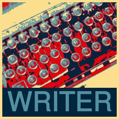 Writer Poster by Karyn Robinson