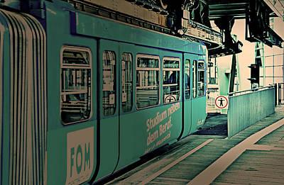 Wuppertal Iv Poster by Nicole Frischlich