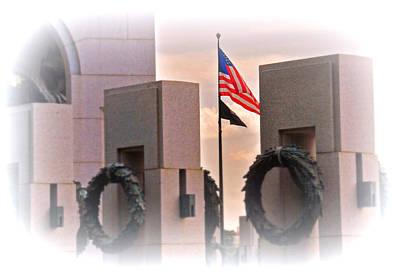 Ww II Memorial  Poster