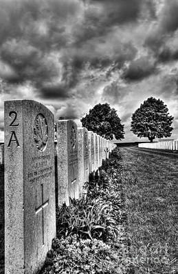 Ww1 Cemetery Poster by Colin Woods