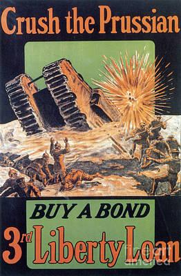 Wwi, 3rd Liberty Loan, 1917 Poster