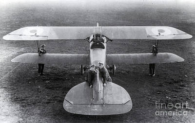 Wwi, Albatros D.iii Fighter Plane Poster by Photo Researchers