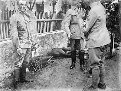 Wwi Austrian Soldier, C1914 Poster