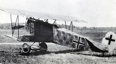 Wwi, German Fokker D Vii Fighter Plane Poster by Photo Researchers