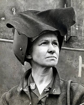 Wwii Rosie The Riveter Poster