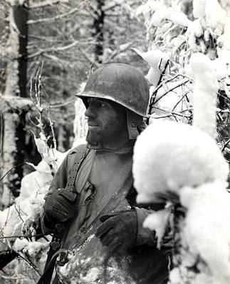 Wwii Veteran Of Bastogne  Poster