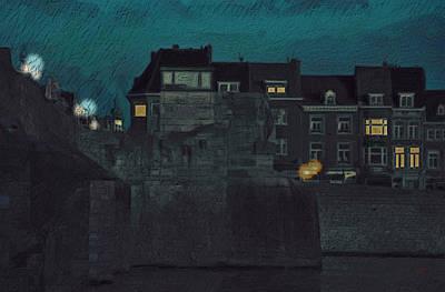 Wyck By Night Poster by Nop Briex