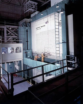 X-10 Graphite Reactor Poster by Us Department Of Energy