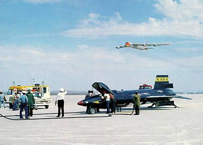X-15 Aircraft After Landing Poster