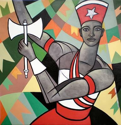 Xango Poster by Marcio Melo