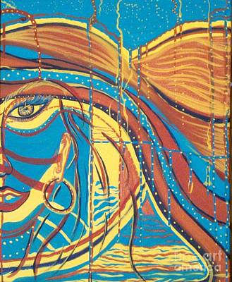 Xenon 1 Poster by Adriana Garces