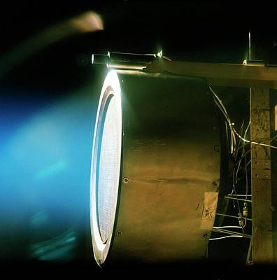 Xenon Ion Engine Prototype Poster