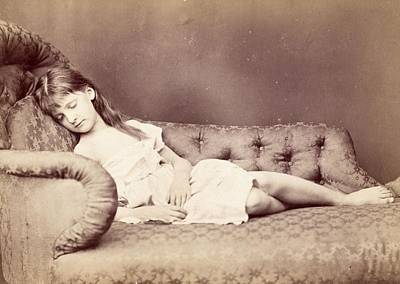 Xie Sleeping, 1874 Poster by Lewis Carroll