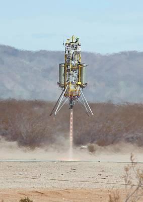 Xombie Rocket Craft Test Flight Poster