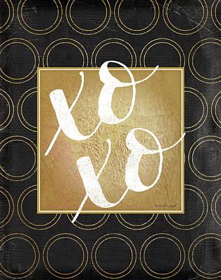 Xoxo Poster by Jennifer Pugh
