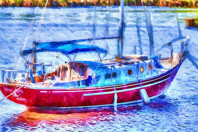 Boating - Coastal - Yachtsman's Dream Poster by Barry Jones