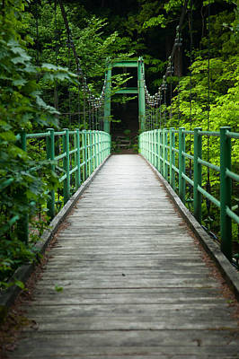 Yagen Forest Bridge Poster