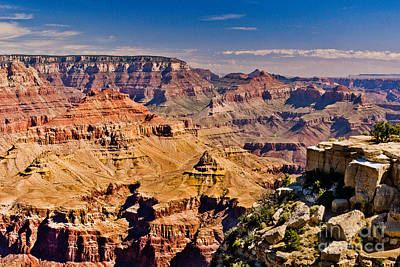 Yaki Point 7 The Grand Canyon Poster by Bob and Nadine Johnston