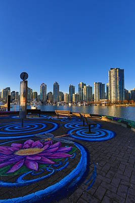 Yaletwon And False Creek Vancouver Poster