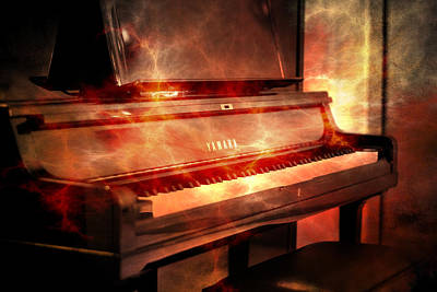 Yamaha Piano  Poster by Tommytechno Sweden