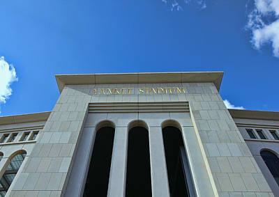 Yankee Stadium Main Entrance Poster by Allen Beatty