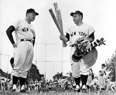 Yankee Yogi Berra Poster by Underwood Archives