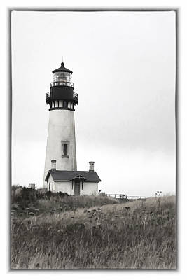 Yaquina Head Lighthouse Poster by Charrie Shockey